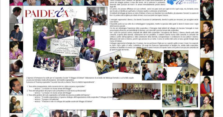 """Corso di formazione al management di impresa sociale, rivolto agli operatori e soci della cooperativa sociale """"Il Villaggio di Esteban"""" 1"""