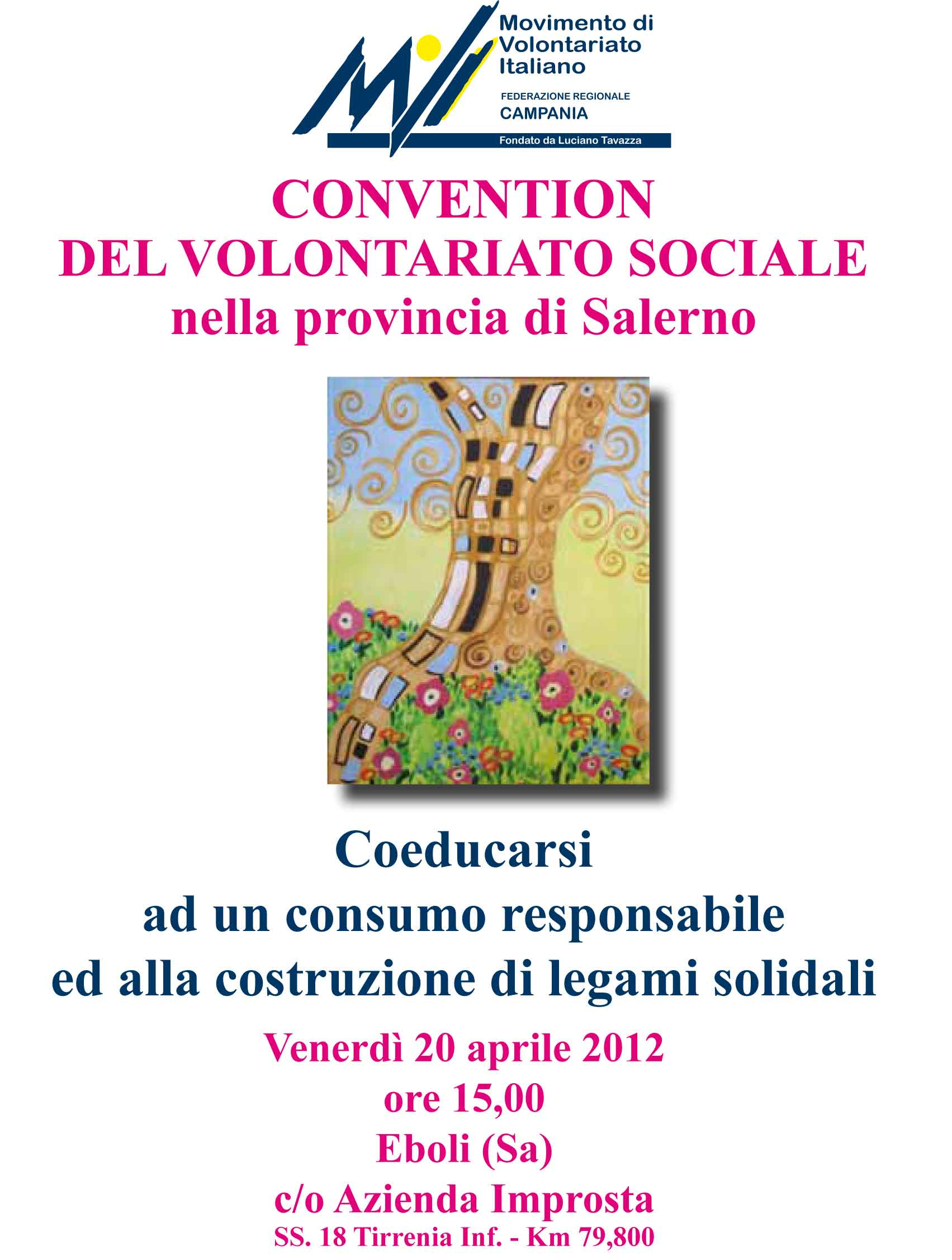 Convention del volontariato sociale nella provincia di Salerno