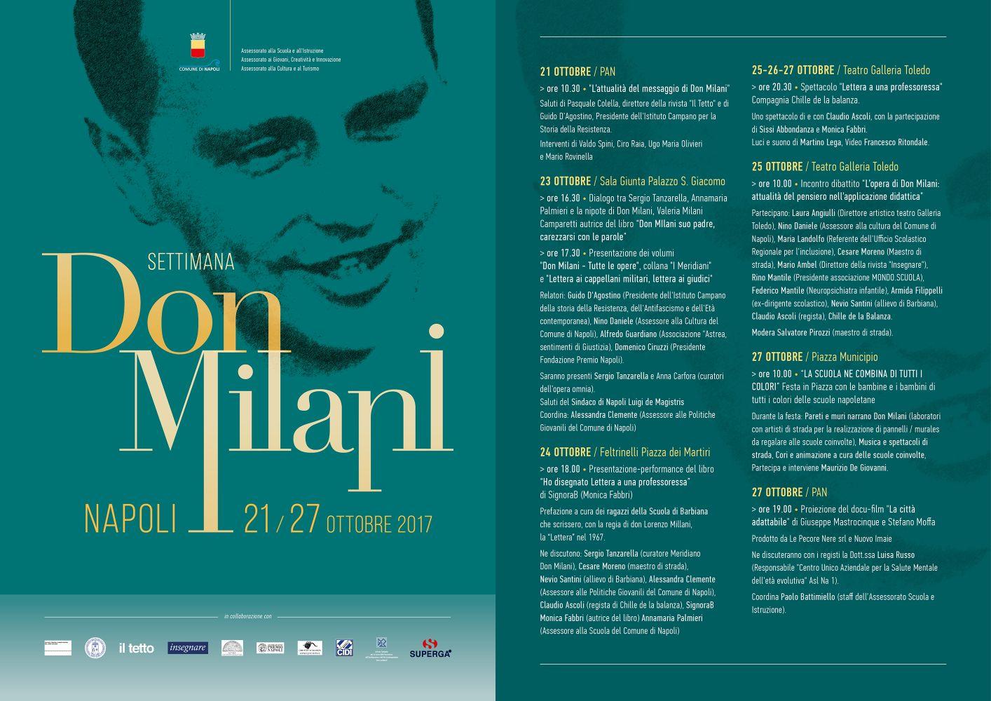 Don Milani, a Napoli una sette giorni dedicata al parroco di Barbiana 1