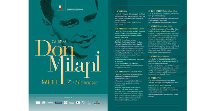 Don Milani, a Napoli una sette giorni dedicata al parroco di Barbiana