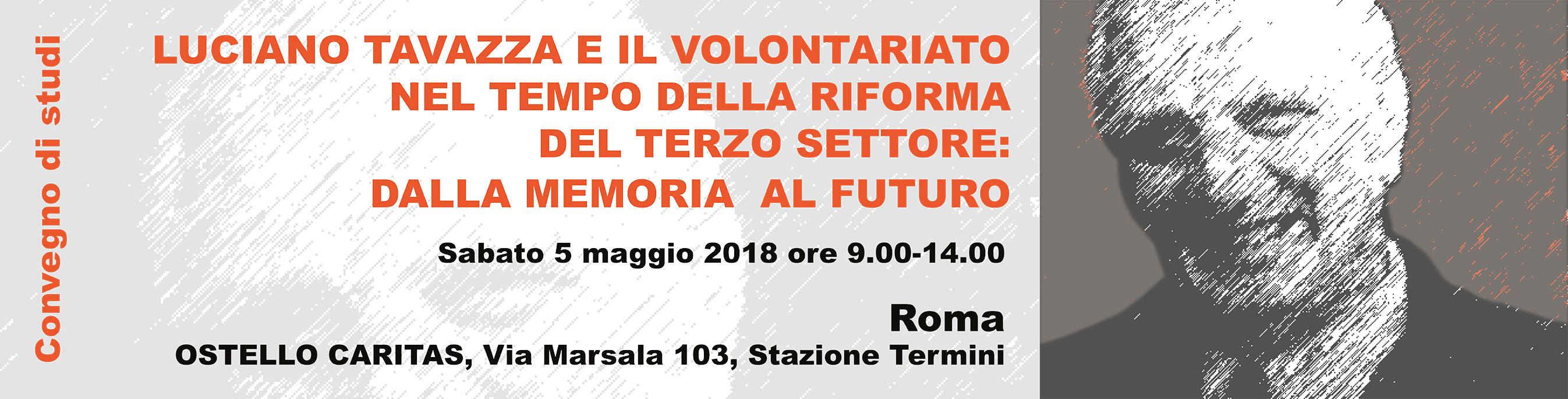 Luciano Tavazza e il volontariato al tempo della riforma del terzo settore: dalla memoria al futuro