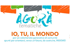 IO, TU, IL MONDO - Per un volontariato generativo di comunità