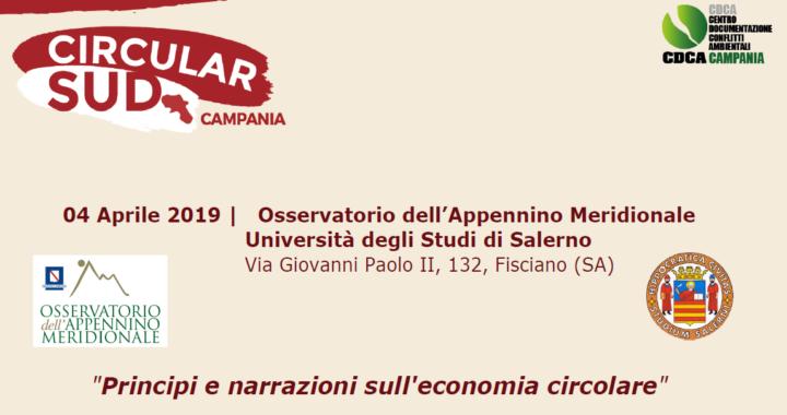 Seminario CircularSud - Università degli Studi di Salerno 1